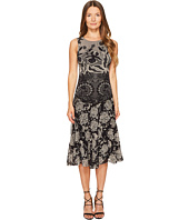 FUZZI - Sleeveless Layered Lace 3/4 Dress Cover-Up