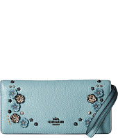 COACH - Willow Floral Slim Wallet