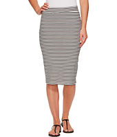 Roxy - Call Up In Dreams Stripe Midi Bodycon Skirt