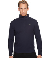 Calvin Klein - Jacquard Mock Neck 1/4 Zip Sweater