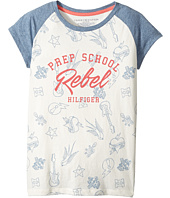 Tommy Hilfiger Kids - Prep School Rebel Tee (Big Kids)