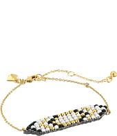 Rebecca Minkoff - Hadley Seed Bead Plaque Bracelet