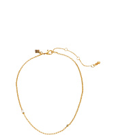Rebecca Minkoff - Chain Choker Necklace with Baguette Stone