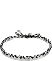 Rebecca Minkoff - Climbing Rope Whipstitch Collar Necklace