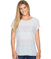 TWO by Vince Camuto - Short Sleeve Delicate Dabs Mix Media Tee