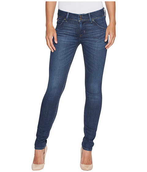 Hudson Collin Mid-Rise Skinny Jeans in Spellbound