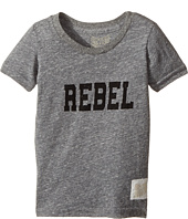 The Original Retro Brand Kids - Rebel Short Sleeve Tri-Blend Tee (Toddler)