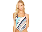 Electric Wave Tankini