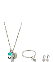 M&F Western - Three-Piece Cactus Jewelry Set