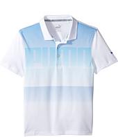 PUMA Golf Kids - Logo Polo (Big Kids)