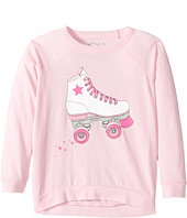 Chaser Kids - Vintage Jersey Long Sleeve Raglan T-Shirt (Toddler/Little Kids)