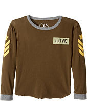 Chaser Kids - Tri-Blend Long Sleeve Blocked T-Shirt (Little Kids/Big Kids)