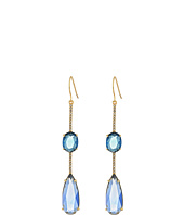 LAUREN Ralph Lauren - Stone Drop with Pave Linear Single Earrings