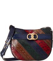 Tory Burch - Gemini Link Snake Crossbody Bag