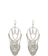 GUESS - Hoop Earrings with Draped Chain and Drops