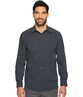 Perry Ellis - Long Sleeve Modern Geo Print Shirt