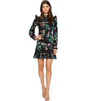 CATHERINE Catherine Malandrino - Long Sleeve Ruffle Yoke/Hem Dress