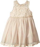 Nanette Lepore Kids - Lace Bodice Sparkle Tulle Bottom (Infant)