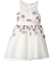 Nanette Lepore Kids - Mesh Dress with 3-D Roses (Little Kids/Big Kids)