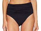 Kore Shirred High Waist Bikini Bottom