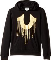 True Religion Kids - Gold Drippy Hoodie (Big Kids)
