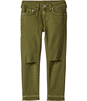 True Religion Kids - Casey Ankle Skinny Jeans in Olive (Big Kids)