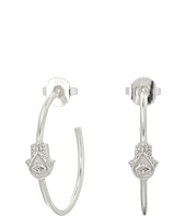 Alex and Ani - Hand of Fatima Hoop Earrings