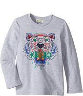 Kenzo Kids - Printed Long Sleeves Tee Shirt (Toddler/Little Kids)