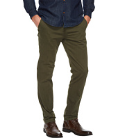 U.S. POLO ASSN. - Slim Stretch Slub Herringbone Twill Chino Pants