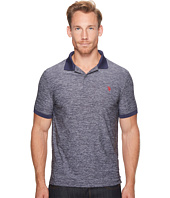 U.S. POLO ASSN. - Classic Fit Solid Short Sleeve Poly Pique Polo Shirt