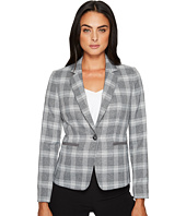 Tahari by ASL - Plaid Long Sleeve Jacket