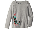 Party Time Cat Long Sleeve Crusher Tee (Little Kids/Big Kids)