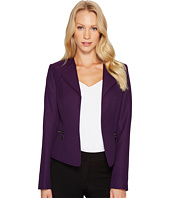 Tahari by ASL - Open Drape Front Jacket