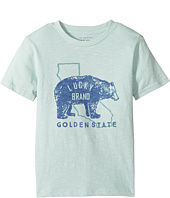 Lucky Brand Kids - Golden State Short Sleeve Graphic Tee (Toddler)