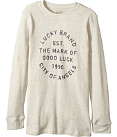 Lucky Brand Kids - Long Sleeve Graphic Thermal Tee (Big Kids)