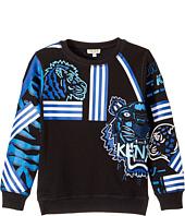 Kenzo Kids - Printed Long Sleeves Sweatshirt (Big Kids)