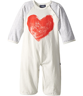 Toobydoo - Sweetheart I Bootcut Jumpsuit w/ Heart Print (Infant)
