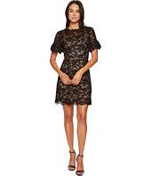 Rebecca Taylor - Short Sleeve Open Back Lace Dress