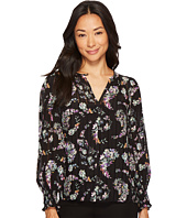Rebecca Taylor - Long Sleeve Jewel Paisley Top