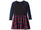Flannel Skirt Dress (Toddler/Little Kids/Big Kids)