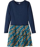 Toobydoo - Little Oscar Ruffle Dress (Toddler/Little Kids/Big Kids)