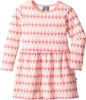 Toobydoo - Geo Pink Skater Dress (Toddler/Little Kids/Big Kids)