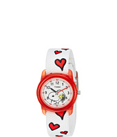 Timex - Time Machines Analog X Peanuts Elastic Fabric Strap (Little Kids/Big Kids)