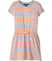 Polo Ralph Lauren Kids - Striped Jersey Tee Dress (Little Kids)