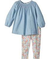 Ralph Lauren Baby - Chambray Top & Floral Leggings (Infant)