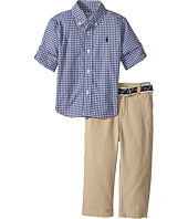 Ralph Lauren Baby - Gingham Shirt & Pants Set (Infant)