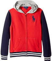 Polo Ralph Lauren Kids - Cotton French Terry Jacket (Big Kids)