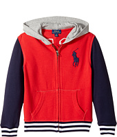 Polo Ralph Lauren Kids - Cotton French Terry Jacket (Little Kids/Big Kids)
