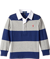 Polo Ralph Lauren Kids - Striped Cotton Rugby Shirt (Toddler)