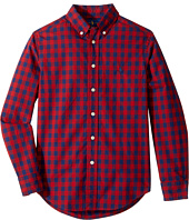 Polo Ralph Lauren Kids - Checked Cotton Poplin Shirt (Big Kids)